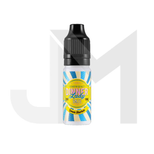 20mg Dinner Lady 10ml Flavoured Nic Salt