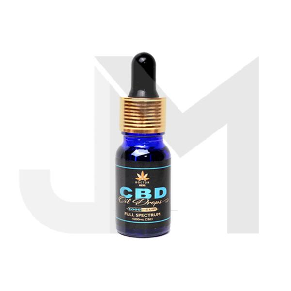 Doctor Herb 1000mg Full Spectrum CBD Oil