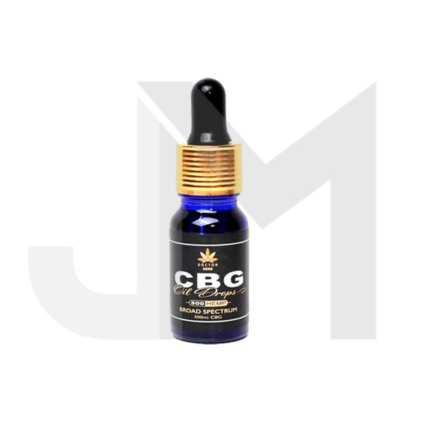 Doctor Herb 500mg CBG Broad Spectrum CBG Oil