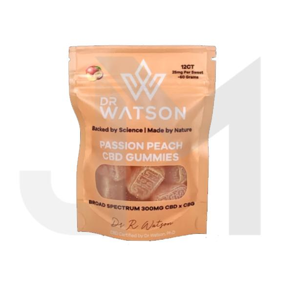 Dr Watson 300mg CBD Hemp Gummies Pack of 12