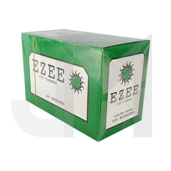 Ezee Green Cut Corner Standard Rolling Papers