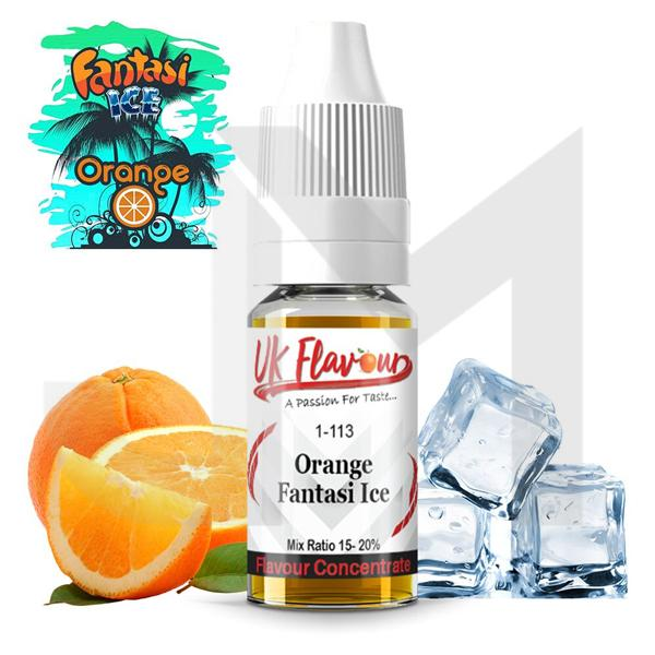 10 x 10ml  UK Flavour Fantasi Range Concentrate 0mg  (Mix Ratio 15-20%)