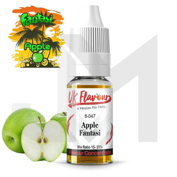 UK Flavour Fantasi Range Concentrate 0mg 10 x 10ml (Mix Ratio 15-20%)