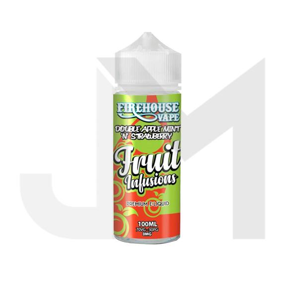 Firehouse Vape Fruit Infusions 100ml Shortfill 0mg (70VG/30PG)