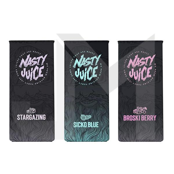 Nasty Juice Berry Series 50ml Shortfill 0mg (70VG/30PG)