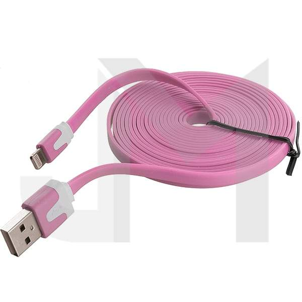 1m Flat iPhone Sync Data Charging Cable