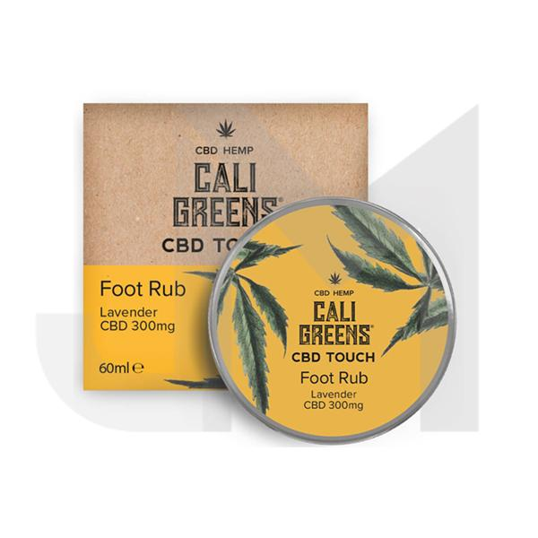 Cali Greens 300mg  CBD Touch Foot Rub Lavender 60ml