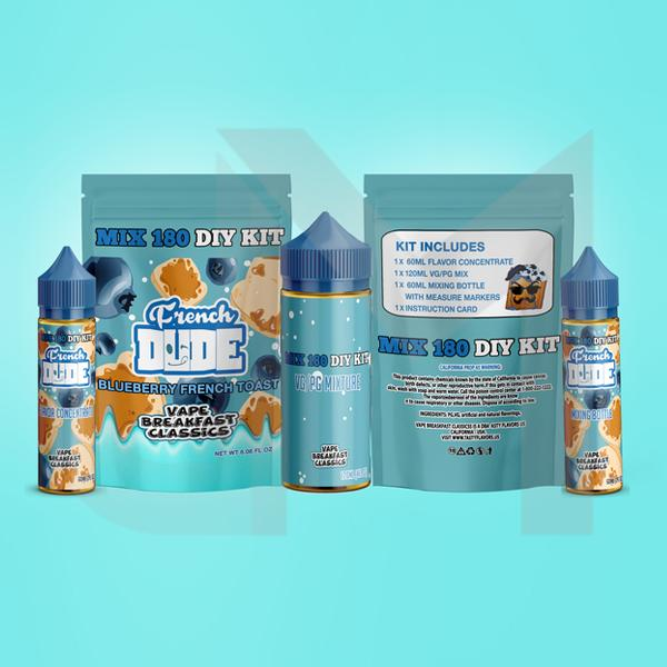 French Dude Blueberry French Toast DIY Mix Kit 180ml