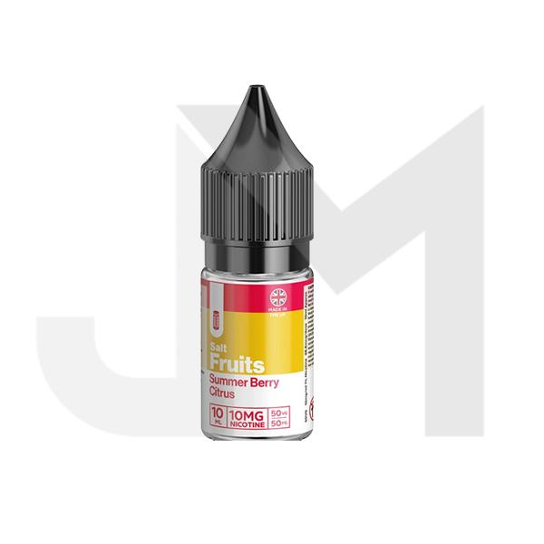 20mg Red Fruits 10ml Flavoured Nic Salt (50VG/50PG)