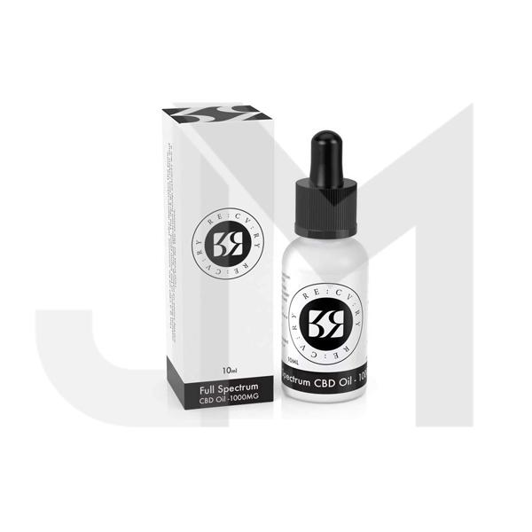 RE:CV:RY 350mg CBD Full Spectrum Oil 10ml