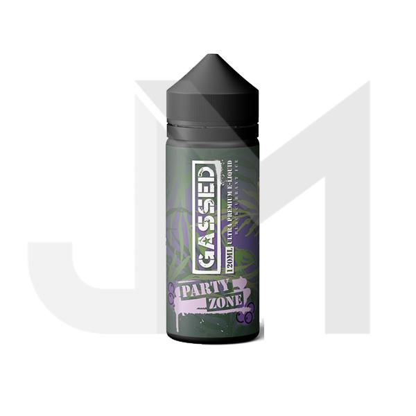 Gassed Ultra Premium 0mg 120ml Shortfill (70VG/30PG)