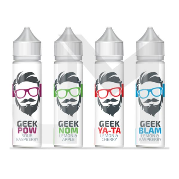 Geek Juice 0mg 50ml Shortfill (70VG/30PG)