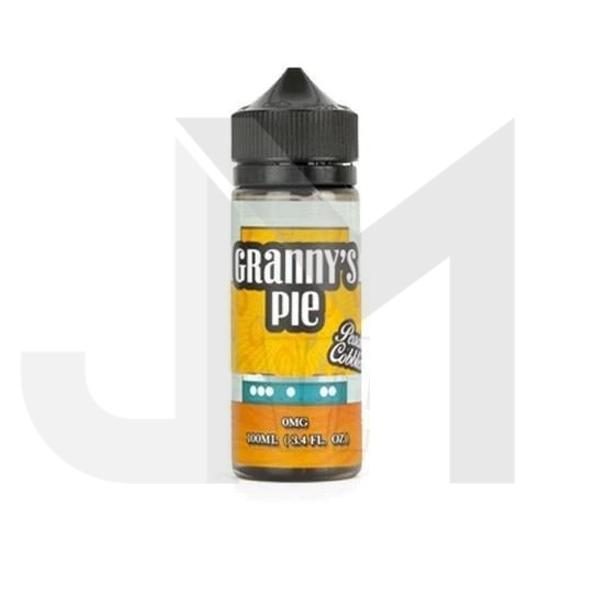 Granny's Pie Peach Cobbler 0mg 100ml Shortfill  (70VG/30PG)