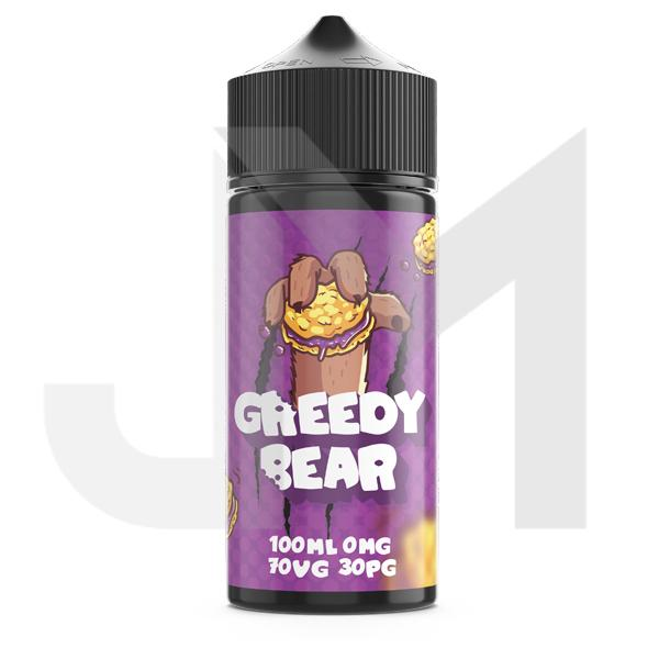 Greedy Bear 100ml Shortfill 0mg (70VG/30PG)