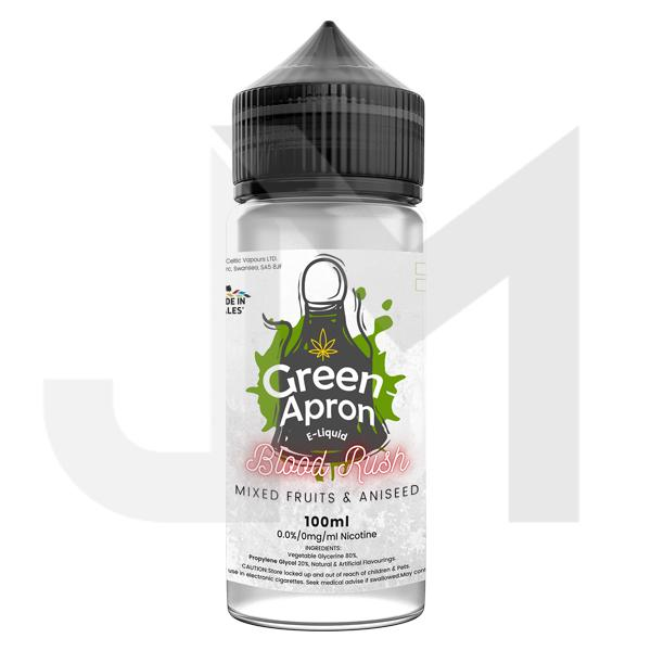Green Apron 100ml Shortfill 0mg (80VG/20PG)