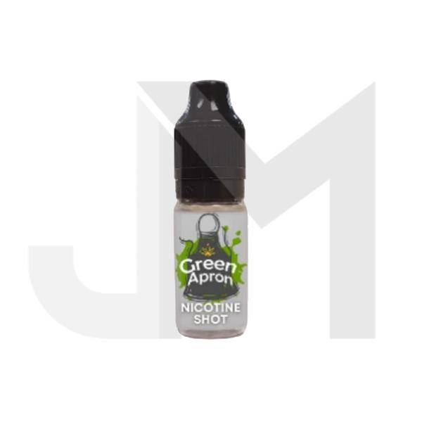 Green Apron 18mg Flavourless Nicotine Shot 10ml 100VG