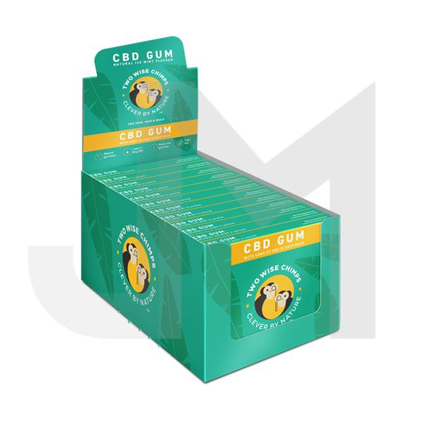 Two Wise Chimps CBD Chewing Gum 45mg