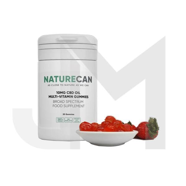Naturecan 200mg CBD Vegan Multivitamin Gummies