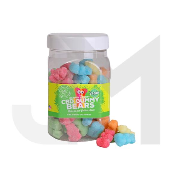 Orange County CBD 10mg Gummy Bears - Large Pack