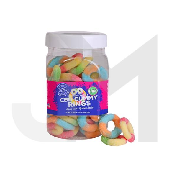 Orange County CBD 50mg Gummy Rings - Large Pack