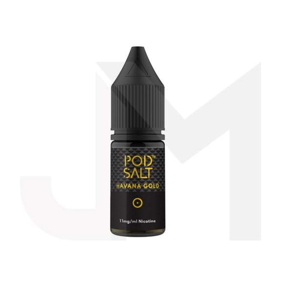 11mg Pod Salt - Flavoured 10ml Nicotine Salt (50VG/50PG)
