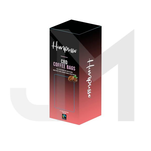 Hempresso 100mg CBD Coffee Bags