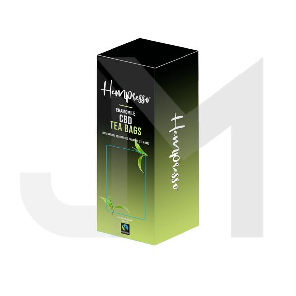 Hempresso 100mg CBD Tea Bags