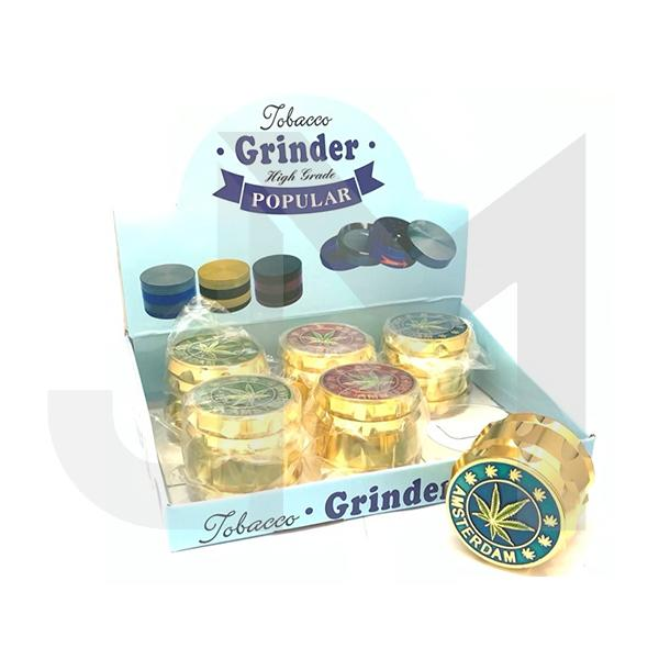 4 Parts High Grade Amsterdam Metal Grinder - HX105DY