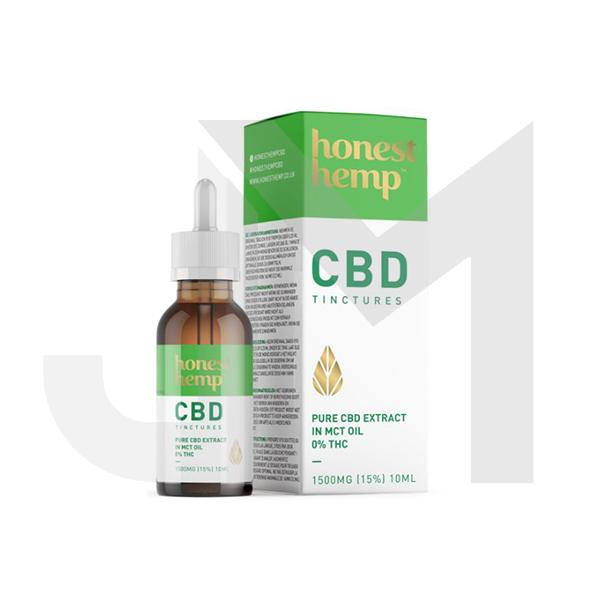 Honest Hemp 1500M 10ml Pure CBD Extract in MCT Oil