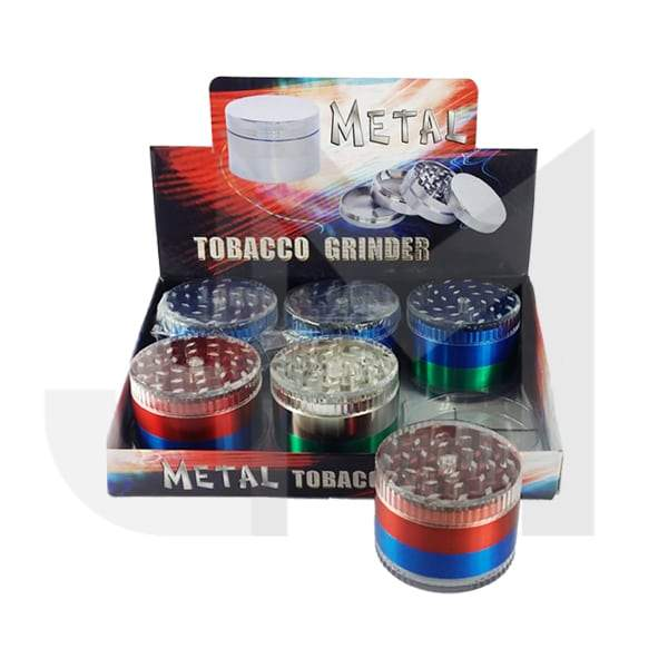 4 Parts Metal/Plastic 60mm Grinder - HX083-4