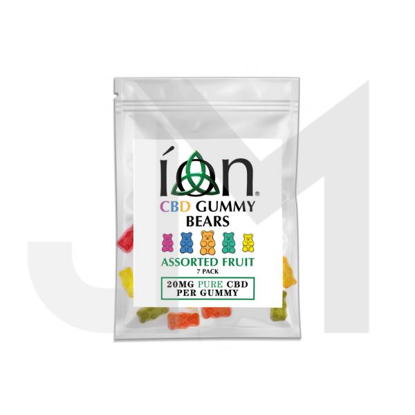 ION Pure CBD Gummy Bears 20mg CBD