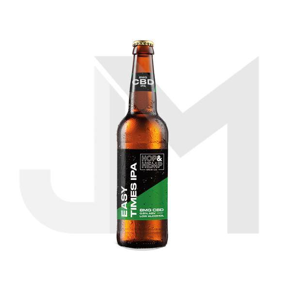 Hop & Hemp 8mg CBD Easy Times IPA Beer 330ml