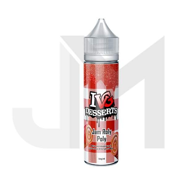 I VG Desserts 0mg 50ml Shortfill (70VG/30PG)
