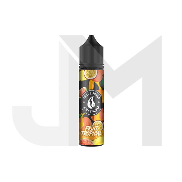 Juice 'N' Power Fruit Range 0mg 50ml Shortfill (70VG/30PG)