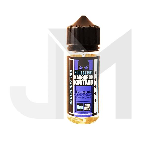 Blueberry Kangaroo Kustard by Cloud Thieves 0mg 100ml Shortfill (80VG/20PG)