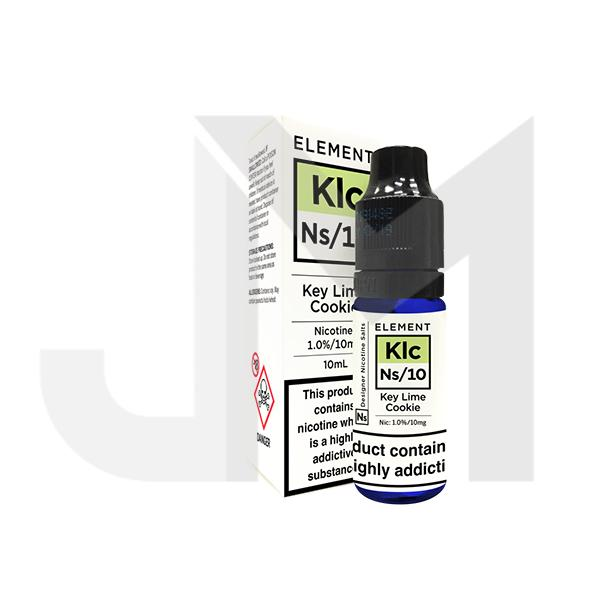 10MG Element Designer 10ML Flavoured Nic Salts