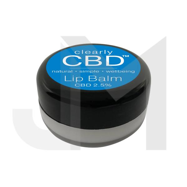 Clearly CBD Lip Balm 25mg CBD 10g