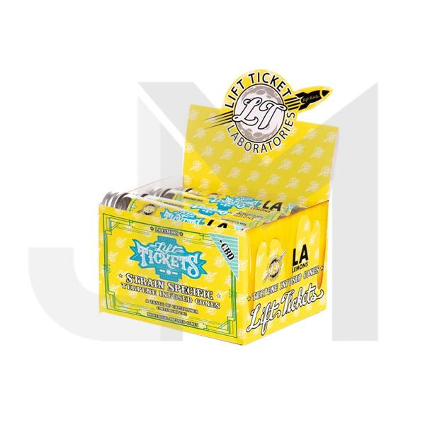 Lift Tickets 710 CBD Terpene Infused Rolling Cones - LA Lemons