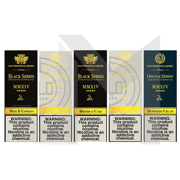 Kilo Classic Collection 100ml Shortfill 0mg (70VG/30PG)