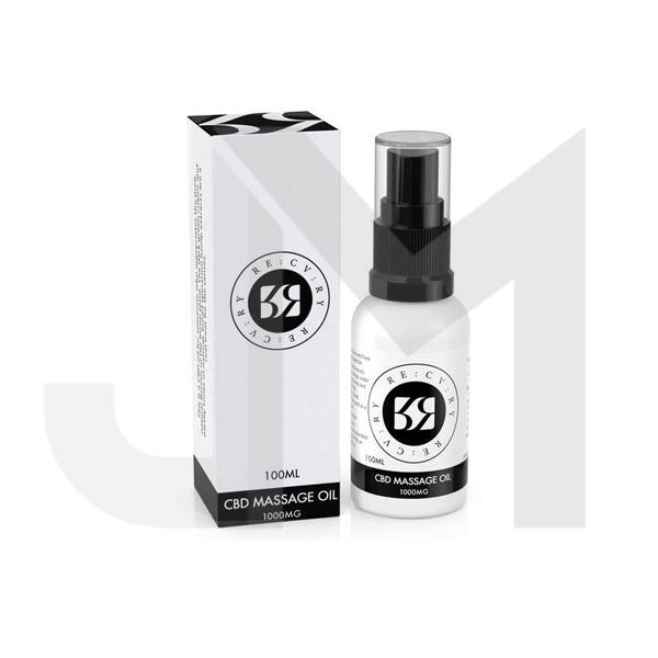 RE:CV:RY 1000mg CBD Massage Oil 100ml