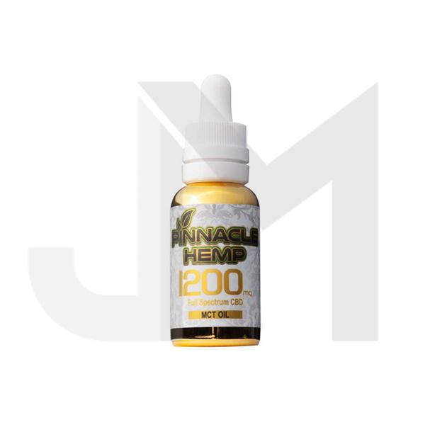 Pinnacle Hemp Full Spectrum MCT Oil 1200mg CBD