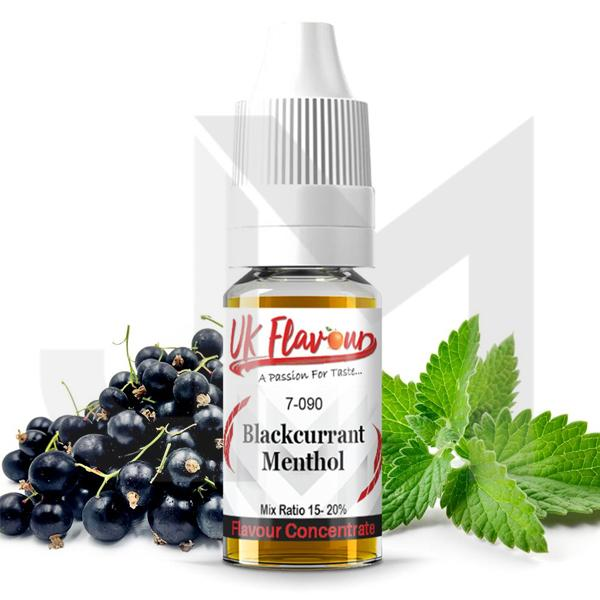 10 x 10ml UK Flavour Menthol Range Concentrate 0mg (Mix Ratio 15-20%)