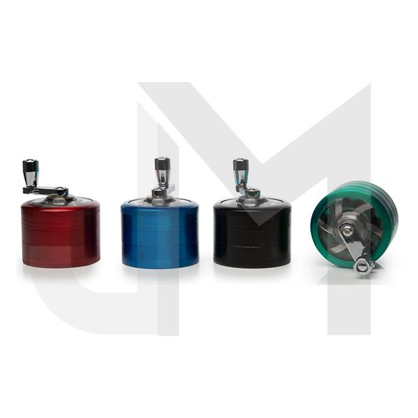 4 Parts Metal Mixed Colour Grinder - HX057SY-4