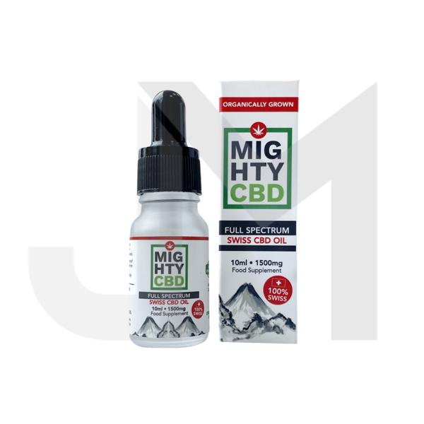 Mighty CBD 1500mg Full Spectrum Swiss CBD Oil 10ml