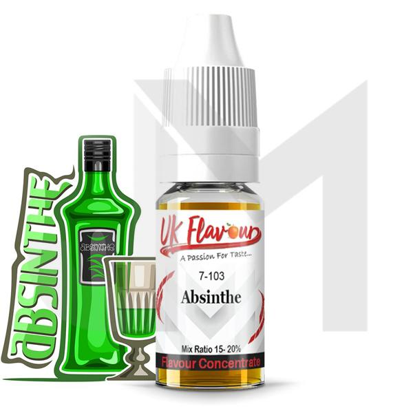 10 x 10ml UK Flavour Misc Range Concentrate 0mg (Mix Ratio 15-20%)