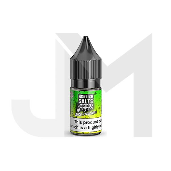 10MG Moreish Puff Salts Candy Drops 10ML Flavoured Nic Salts (50VG/50PG)