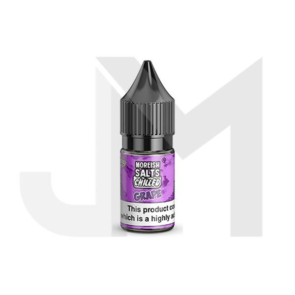 10MG Moreish Puff Salts Chilled 10ML Flavoured Nic Salts (50VG/50PG)