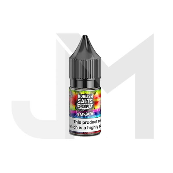10MG Moreish Puff Salts Sherbet 10ML Flavoured Nic Salts (50VG/50PG)