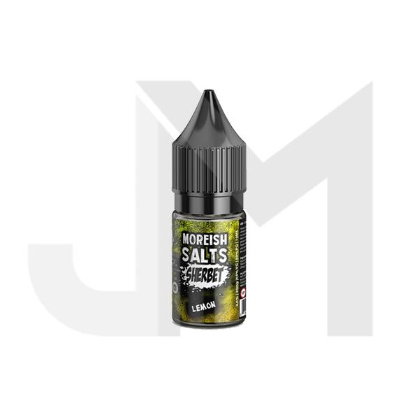20MG Moreish Puff Salts Sherbet 10ML Flavoured Nic Salts (50VG/50PG)