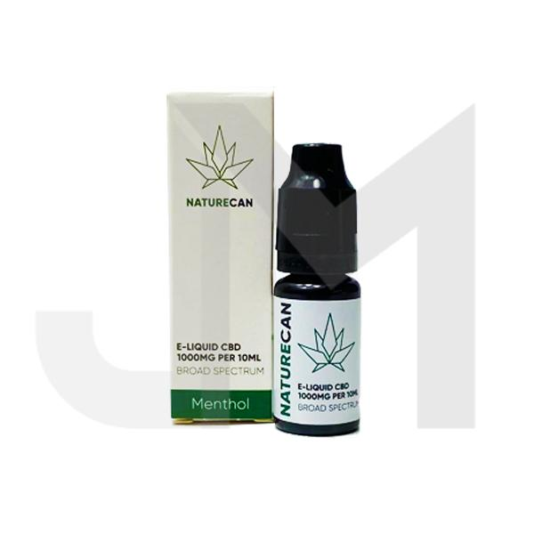 Naturecan 1000mg CBD E-Liquid 10ml (80VG/20PG)